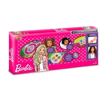 Kit Barbie Colares e Pulseiras Fun F00280