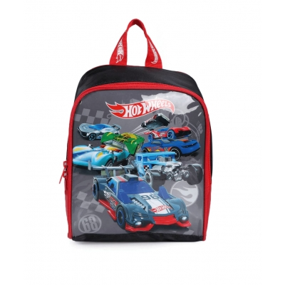 Lancheira Hot Wheels Preto Luxcel LA34463HW