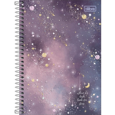 Caderno Espiral 1/4 Magic 80 Folhas Tilibra 295680