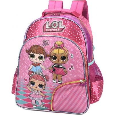 Mochila de Costas Lol Pink Tam G Luxcel IS34601LO