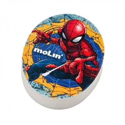 Borracha Oval Spider-Man Molin 14185
